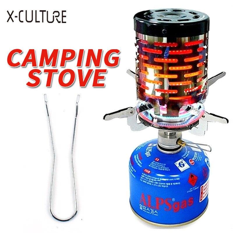 Portable Heater Butane Gas Stove Burner Warmer Winter Outdoor Camping Hiking