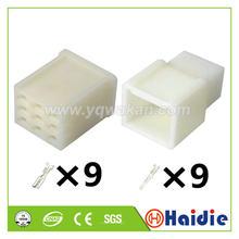 2 conjuntos 9p automático unsealed masculino fêmea conector do agregado familiar automóvel 6130-0590 6130-2390