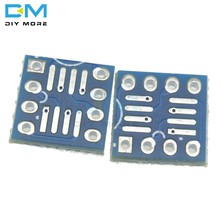 Carte intercalaire op8 SO8 SOIC8 à DIP8, 50 pièces, Module adaptateur de carte PCB