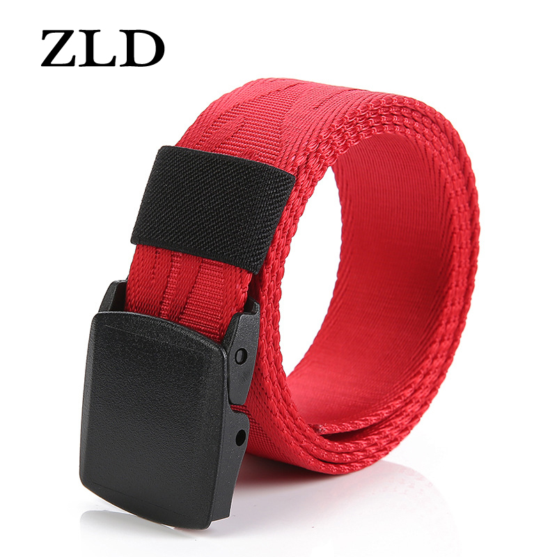 ZLD High Quality Belt Tactical Fashion Adjustable Women Outdoor Belt Waist Solid Fit Survival Men Nylon Belts  Luxury Belt