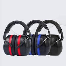 Proteção earmuffs fone de ouvido ruído trabalho orelhas na cabeça tampões de ouvido anti-ruído fones de ouvido com cancelamento de equipamentos de fone de ouvido segurança