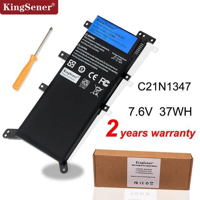 7.5V 37WH Kingsener C21N1347 Nieuwe Laptop Batterij Voor Asus X554L X555 X555L X555LA X555LD X555LN X555MA 2ICP4/63/134 c21N1347