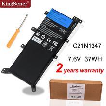 Bateria de laptop 7.5v 37wh kingsener, bateria para asus x554l x555 x555l x555la/pro/x555ma/63/134 c21n1347