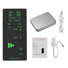 M1 Mini Portable Sound Changer for Live Streaming Online Chatting Singing Compatible with S