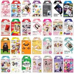 Véritable Fujifilm Instax Mini 8 9 Film papier Photo couleur 10 pièces pour Fuji 9 8 7s 50 90 25 70 partager SP-2 SP-1 appareil Photo instantané Liplay