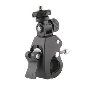 Image 2 - Trípode para cámara, abrazadera para manillar de bicicleta, abrazadera de tornillo 1/4, soporte de plástico para cámara DV, Xiaomi, Gopro Hero4 3 3 + 2 1