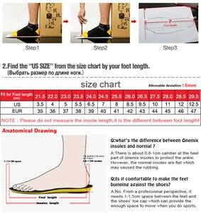 Image 5 - Onemix sapatos masculinos tênis esportivos 2019 nova meia sapatos malha respirável sapatos de caminhada formadores luz deslizamento sobre zapatillas hombre