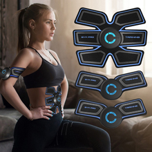 цена на Fitness Abdominal Muscle Stimulator Training Gear Muscle Exerciser Workout Training Body Slimming Machine Relaxing Massager
