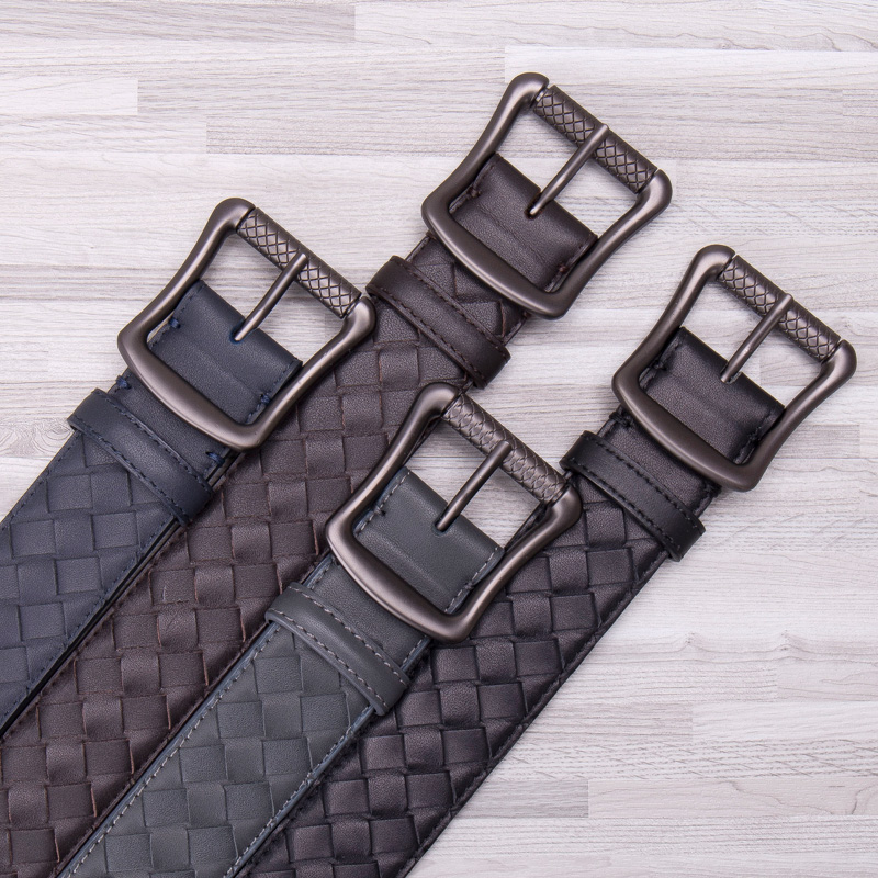 Cow Genuine Leather Male Belt Luxury Designer Classic Vintage Belts Men High Quality With Pin Buckle Casual Business Belts