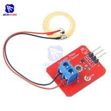Аналоговый пьезоэлектрический керамический пьезоэлектрический датчик вибрации для Arduino