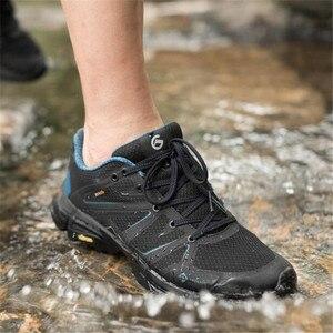 Image 3 - חדש Youpin Proease יער חיצוני נעלי Xiaomi אקו מערכת סניקרס נשים עמיד למים V תחתון אנטי שקופיות הלם לנשימה נעליים