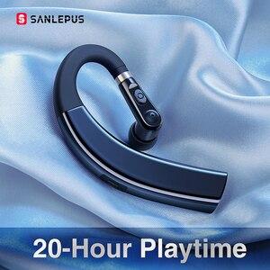 Image 1 - Sanlepus M11 Bluetooth Oortelefoon Draadloze Hoofdtelefoon Handsfree Oordopjes Headset Met Hd Microfoon Voor Telefoon Iphone Xiaomi Samsung
