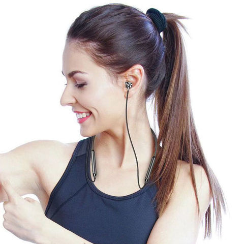 Neckband Bluetooth Headphones Stereo Headset Wireless Bluetooth Earphone Sports Earbuds With Mic for universal all mobile phones Lahore