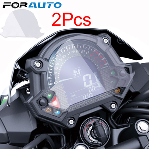 FORAUTO Cluster Scratch Protection Film For Kawasaki Z900 Z650 2017 2Pcs Screen Protector Sticker Instrument Speedometer Film(China)