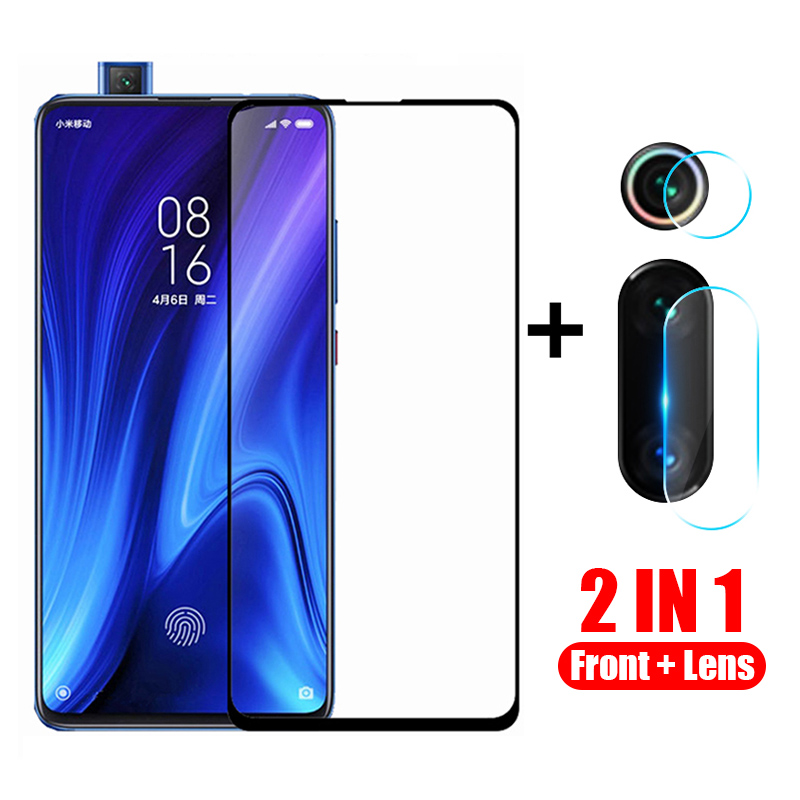2 in 1 protective glass for xiaomi mi 9t pro camera back cover for xiomi mi9t 9tpro mi 9 t t9 xiaomi9t tremp glasses lens case(China)