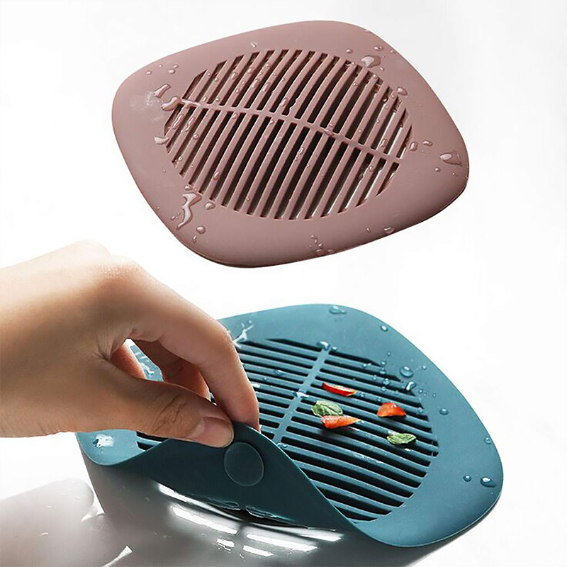 Shower Drain Covers Silicone Tube Drain Hair Catcher Stopper With Sucker For Bathroom Kitchen Ubber Bathtub Sink Strainer Plug