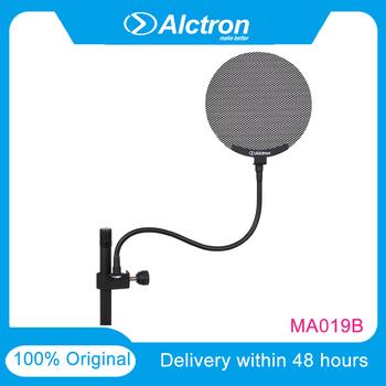 Alctron MA019B Pop Alctron filtr Pop dwuwarstwowa Pop szyba przednia z ulepszonym elastycznym uchwytem stabilizacyjnym 360 ° tanie i dobre opinie 32 Ohm OPTYCZNE CN (pochodzenie) Metal Optical Wzmacniacz domowy
