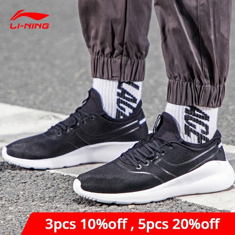 Li-Ning Men HEATHER II Classic Lifestyle Shoes Light Weight LiNing Li Ning Sock-Like Sport Shoes Fitness Sneakers AGCN061 YXB204