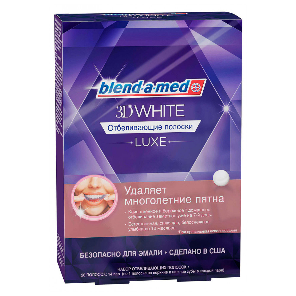 Beauty & Health Oral Hygiene Teeth Whitening Strips blend-a-med 294938