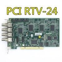 Através do teste de qualidade de 100% pci RTV-24 cartão de aquisição de imagem de quatro canais