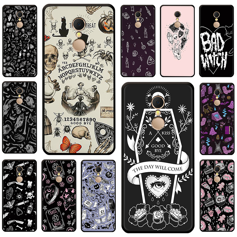 Ouija <font><b>Board</b></font> Soft Silicone phone Cover for Xiaomi Redmi 4A 6A S2 <font><b>Note</b></font> 7 <font><b>8</b></font> 4 4x 5 6 Pro 7A K20 Pro image