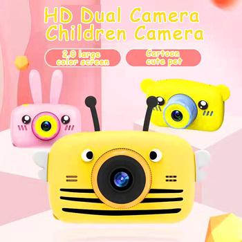 X9P Mini Cartoon dla dzieci aparat fotograficzny kreatywny aparat dziecięcy HD aparat cyfrowy przenośny aparat 1080P dla dzieci urodziny prezent na boże narodzenie tanie i dobre opinie PULUZ 2x CN (pochodzenie) Brak Hd (1280x720) 4 3 cali 4 5-54mm NONE 10 0-20 0MP Karty SD Ekran HD 2 quot Zdjęcie JPEG Wideo AVI Audio WAV