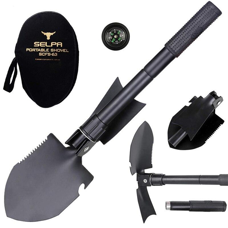 Portable Military Beach Shovel Survival Spade Dibble Trowel Garden Camping Tools