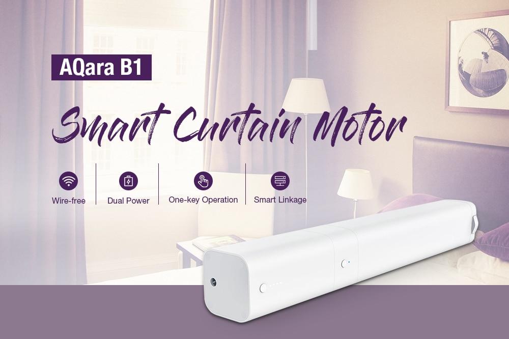 Closeout DealsAqara Curtain-Motor Automatic-Control Mi Home-App with Zigbee-Wifi-Work for Smart
