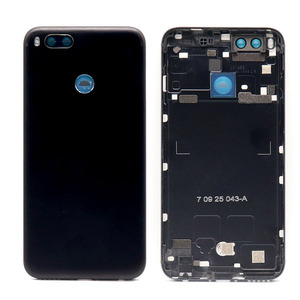 Image 2 - For Xiaomi Mi A1 Battery Cover MiA1 Rear Door Back Housing Case For Xiaomi Mi 5X A1 Battery Cover With Power Volume Button