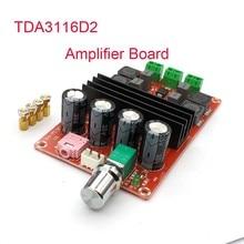 XH-M190 Tube Digital Audio Board TDA3116D2 Power Audio Amp 2.0 Class D Stereo HIFI amplifier DC12-24V 2*100W