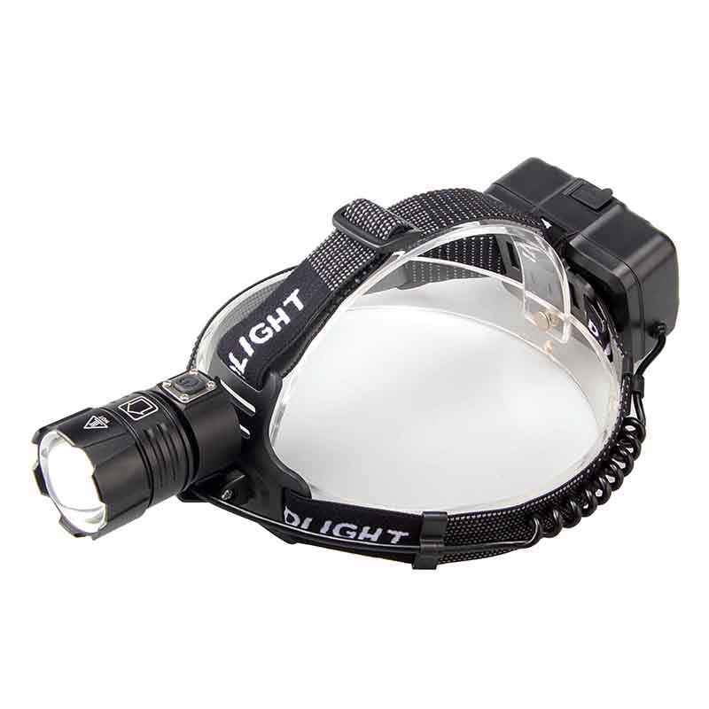 Xhp70.2 Headlamp Usb Charging Input And Output Zoom Headlamp Electricity Display Large Lens Headlamp|Outdoor Tools| |  - title=