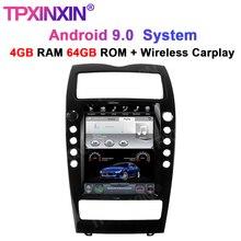 Para maserati quattroporte 2004 2012 android 9.0 tesla rádio reprodutor de dvd do carro reprodutor multimídia auto estéreo gravador de fita unidade de cabeça