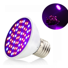 Plants LED Grow Light Full Spectrum E27 Phyto Lamps 85-265V For Indoor Greenhouse Hydroponic Flower Seeds Vegetables Cultivation