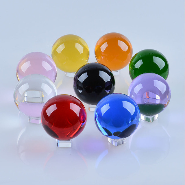 Crystal Ball Color Ball 20 25 Crystal Crafts Decoration Accessories Home Decoration 1