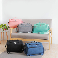 Dry And Wet Separation Travel Bag Waterproof Packing Cubes Women's Weekend Overnight Suitcase Pouch Garment Luggage Accessories