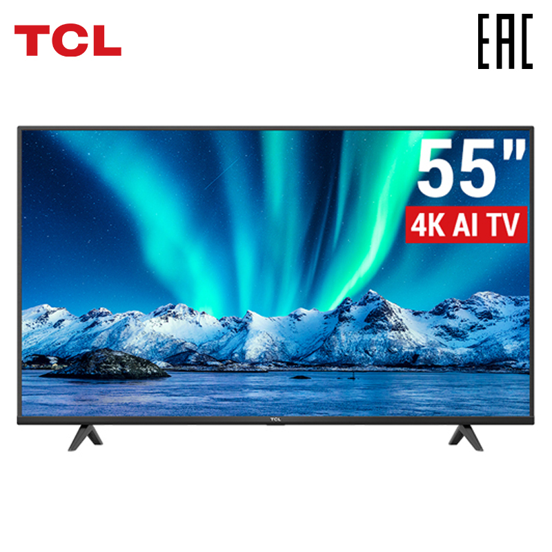 Android P TV 55 inch TV TCL 55P615 4K UHD Smart TV