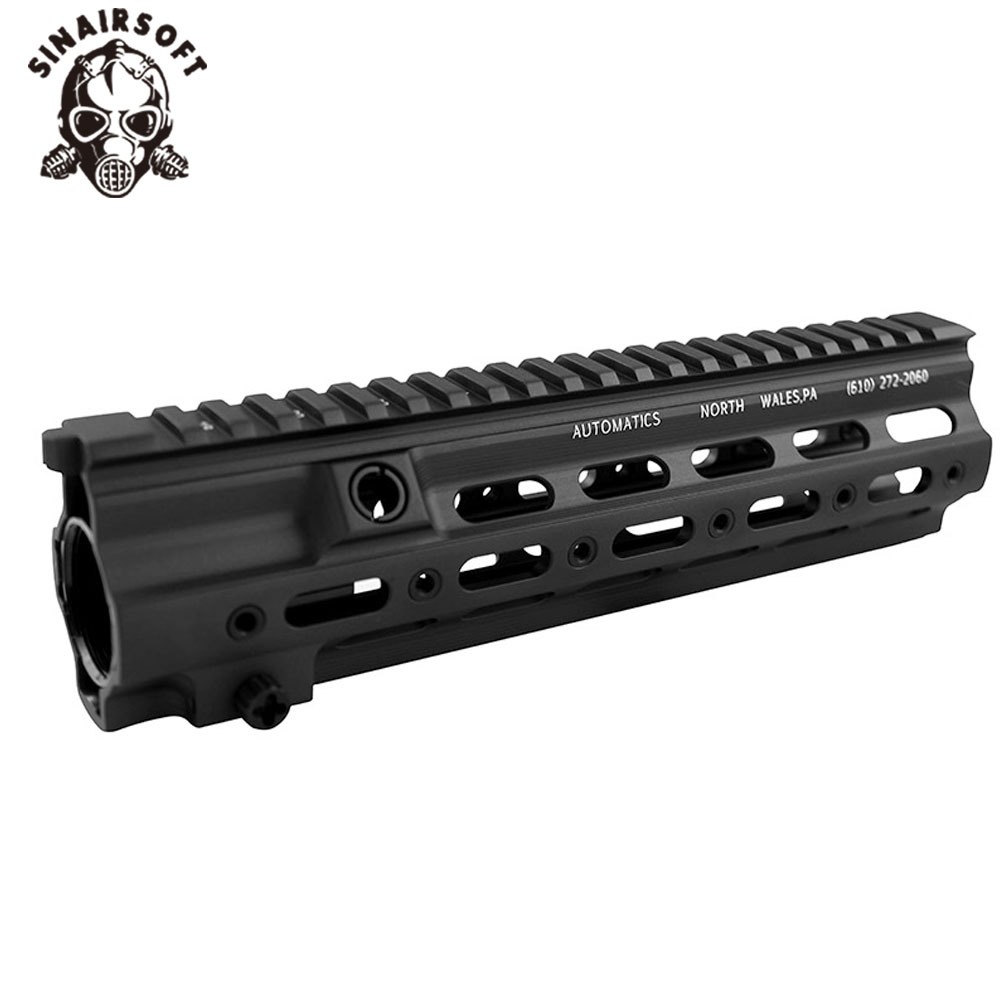 Aluminum Hard Coat Anodized GT Style <font><b>416</b></font> M-LOK MOD Lite <font><b>Handguard</b></font> Rail System For AR AEG Airsoft M4A1 Paintball Receiver Gearbox image