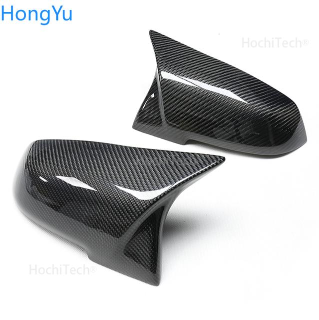 For BMW i3 i3S series 2014-2018 Mirror cap M3 M4 exterior mirror carbon fiber mirror mask 3