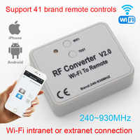 RF converter WIFI to remote control 300-868mhz Android IOS RF WIFI remote control 433mhz 868mhz