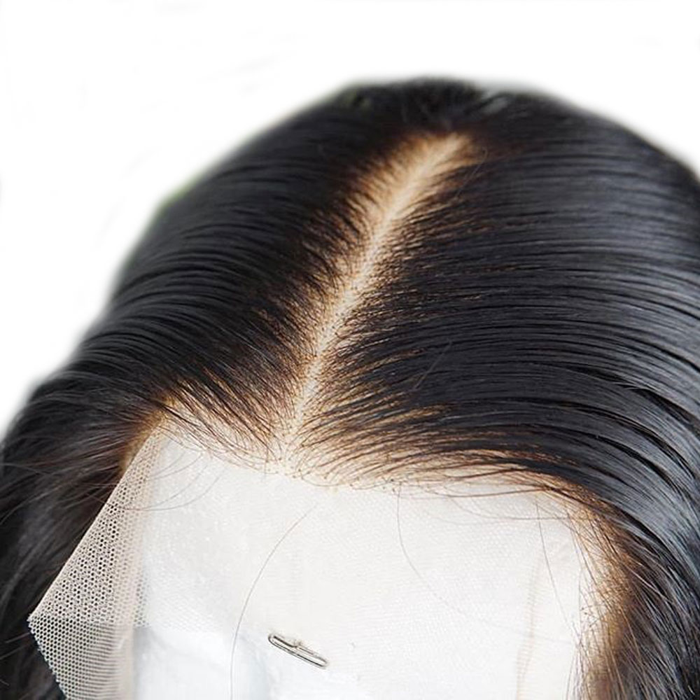 Image 5 - 13x4 Remy Straight Lace Front Human Hair Wigs Brazilian Human Hair Wig Extensions Near Me For Black Pre Plucked With Baby Hair-in Lace Front Wigs from Hair Extensions & Wigs
