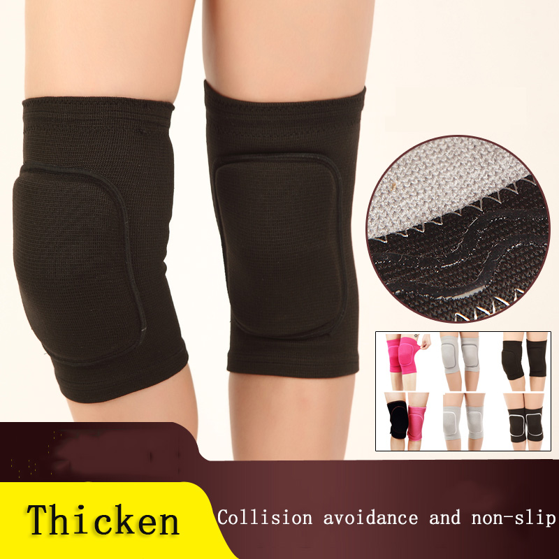 One pair Sports Knee Pads Thickened Anti-fall for Adult Children Kneeling Knee Dancing Sponge Football Protective Gear Knee Pads