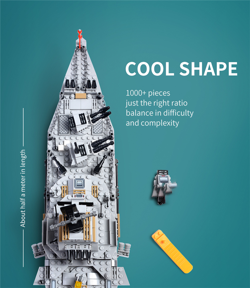 1000+ PCS Military Warship Navy Aircraft Army Figures Building Blocks LegoINGlys Army Warship Construction Bricks Children Toys (2)