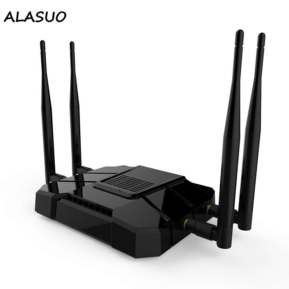 1200Mbps Wifi Router 4G Modem Wifi Repeater 2.4Ghz 5Ghz Wireless Router 3G 4G 5G Mobile Router With Sim Card Slot image
