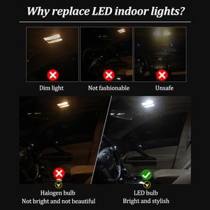 Image 3 - 100% White Canbus led Car interior light Package Kit For BMW E36 E46 E90 E91 E92 E93 M3 led interior lights (1990 2013)
