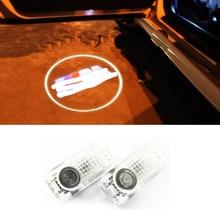 2x Car door laser projector Logo Ghost Shadow Welcome Light For BMW E81 E87 E88 E92 E93 E60 E61 E65 E66 E70 E71 стоимость