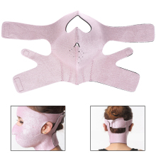 HOT 3D V Face Slimming Mask Massage Relaxtion Facial Slim Up Belt Lifting Chin Thin Cheek Bandage