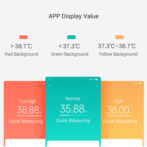 Image 3 - Original Xiaomi Mijia Medical Electronic Thermometer Health Smart Digital Bluetooth Thermometer LCD Display Work With Mijia APP