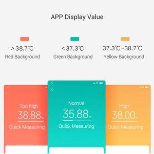 Image 3 - Originale Xiaomi Norma Mijia Medico Termometro Elettronico Salute Intelligente Bluetooth Digitale Termometro Display LCD di Lavoro Con Norma Mijia APP