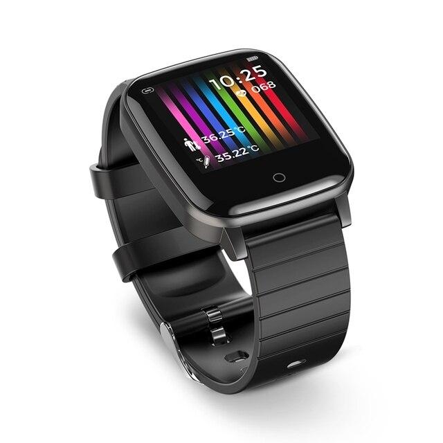 BlitzWolf BW-HL1T Smart Watch Heart Rate Themometer Training Smarwatch 3