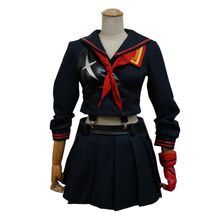 Cossky KILL la KILL Ryuko Matoi Cosplay Costumes Women Girl Dress Sailor Uniform Anime Costume